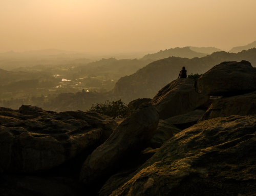Hampi – A magical sunrise and sunset